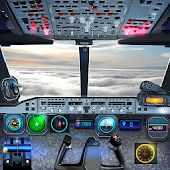 Airplane Pilot Cabin – Flight Simulator 3D