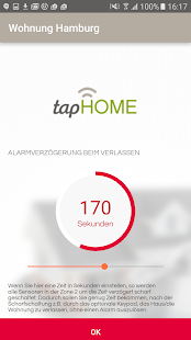 tapHome Home Alarm – Miniaturansicht des Screenshots