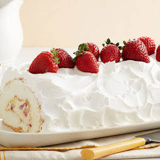 Heavenly Strawberry Roll.