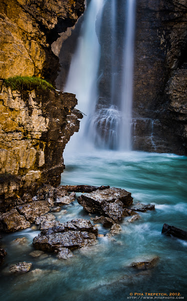 Photo: A shot from Upper Falls, Johnston Canyon in Banff National Park #landscapephotography