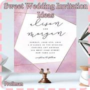 Sweet Wedding Invitation Ideas icon
