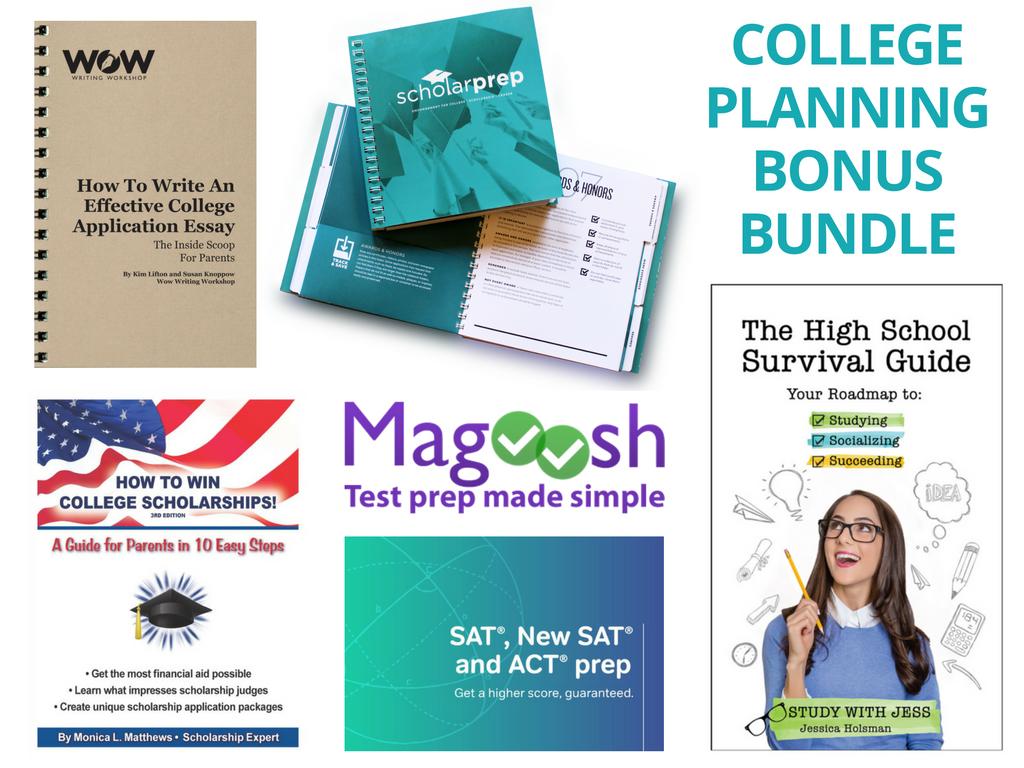 bonus bundle college planning bonus bundle