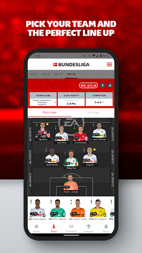 Official Bundesliga Fantasy Manager  screenshots 2