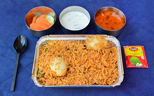 Egg Biryani Combo image