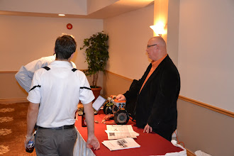 Photo: Belimo Energy Valve presented by Clark Campbell of Belimo