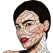 Fashion Poly Art: Color by Number, Coloring Puzzle‏