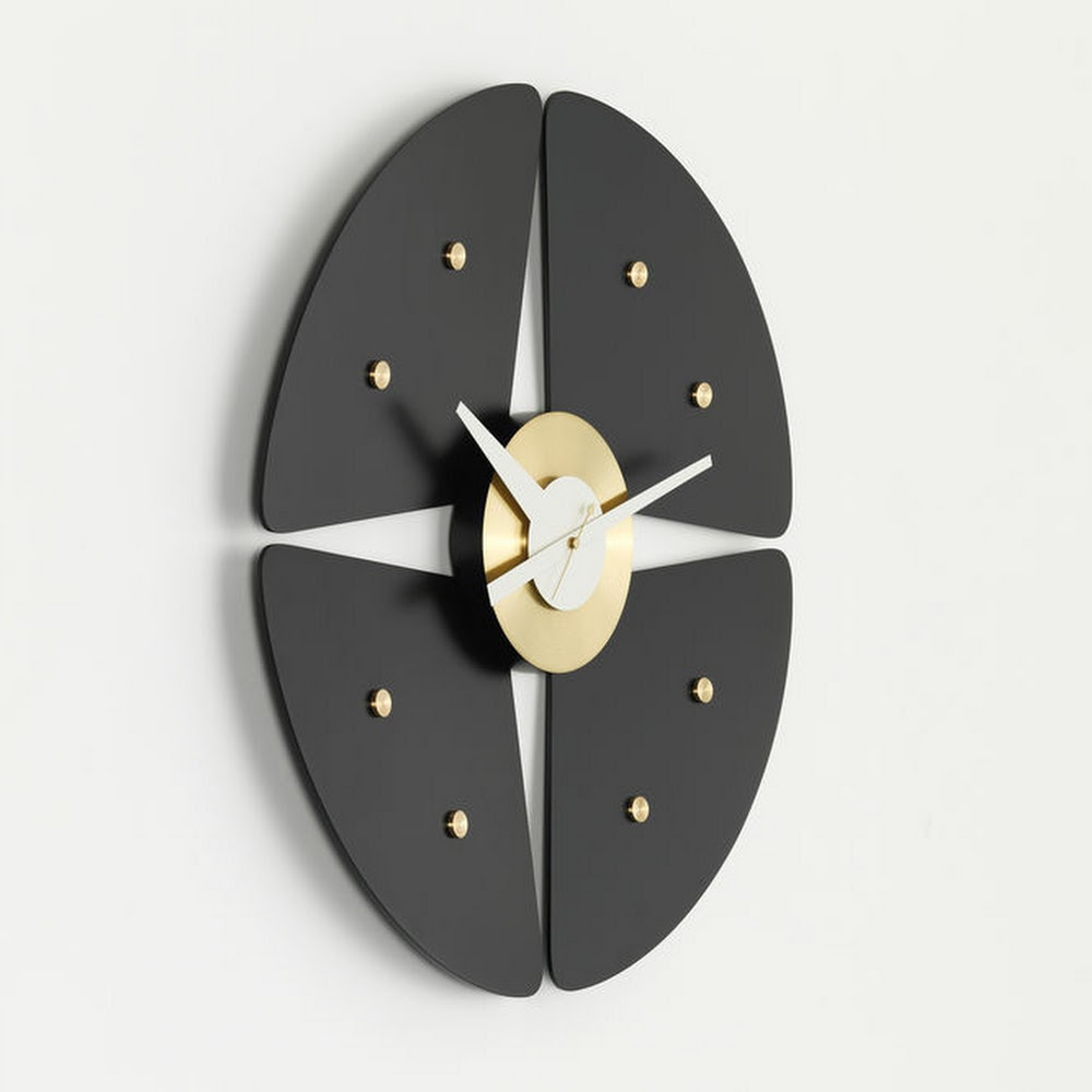 PETAL WALL CLOCK | DESIGNER REPRODUCTION