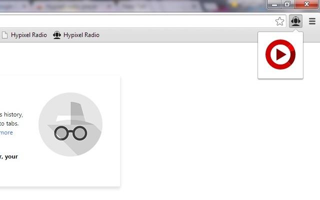 Hypixel radio player