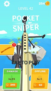 Pocket Sniper! APK + MOD(Unlimited Coins/Unlocked Everything)Pocket Sniper 8