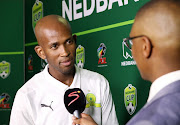 Mosa Lebusa of Mamelodi Sundowns during the 2020 Nedbank Cup Launch at the Nedbank HQ, Johannesburg on the 09 January 2020.