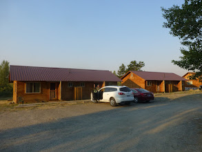 Photo: Cabins at the Slide Inn- on the banks of the Madison River