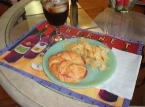 Cheese Salami Croissants