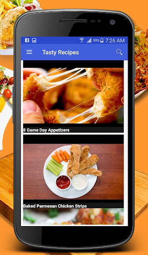 Tasty Recipes screenshot