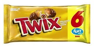 chocolate twix caramel 6und