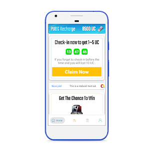App PUBG Recharge : Win Free UC and Royal Pass 9 APK for Windows Phone