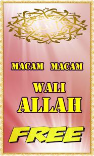 Macam Macam Wali Allah - náhled
