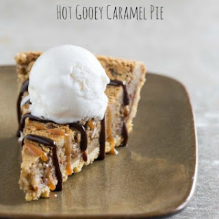 Hot Gooey Caramel Pie