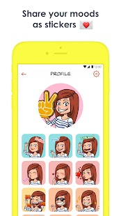 Striply - Chat as a comic strip with your friends- screenshot thumbnail