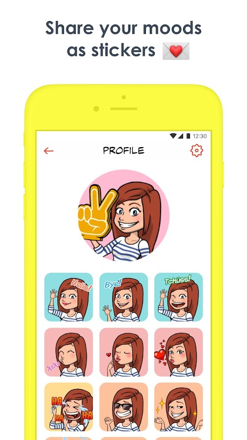 Striply - Chat as a comic strip with your friends- screenshot