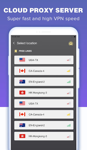Screenshot for Onetap VPN in United States Play Store
