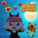 Animal Crossing New Halloween Candy Bubble Shooter icon