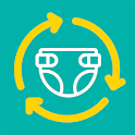 Pampers Recycling New icon