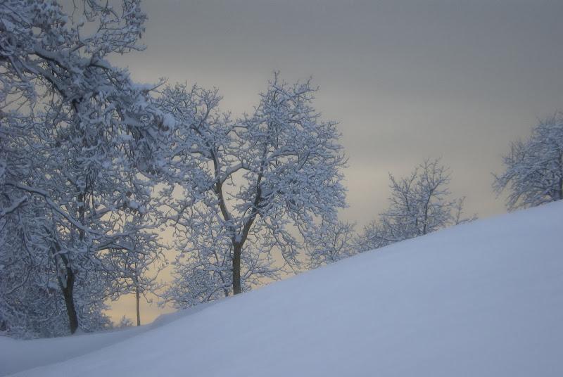 La luce di un pallido tramonto... di Gianva