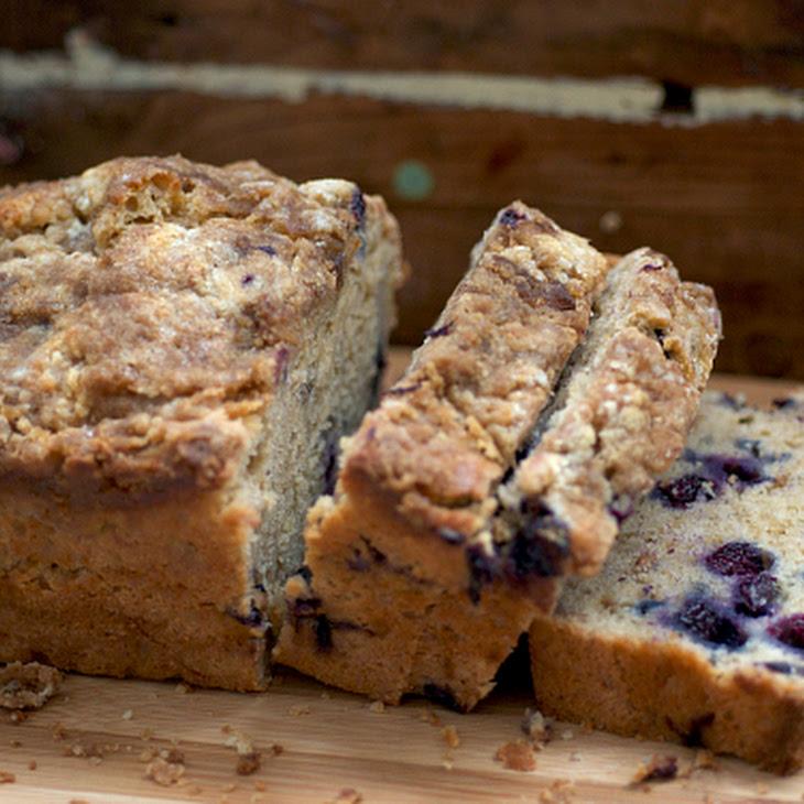 Coconut Blueberry Banana Bread Recipe