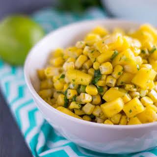 Corn and Mango Salsa.