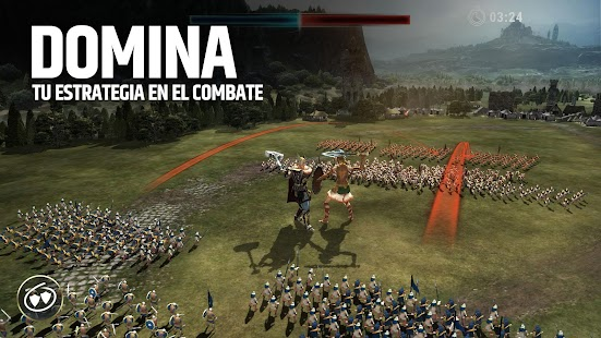 Dawn of Titans - Estrategia bélica épica Screenshot