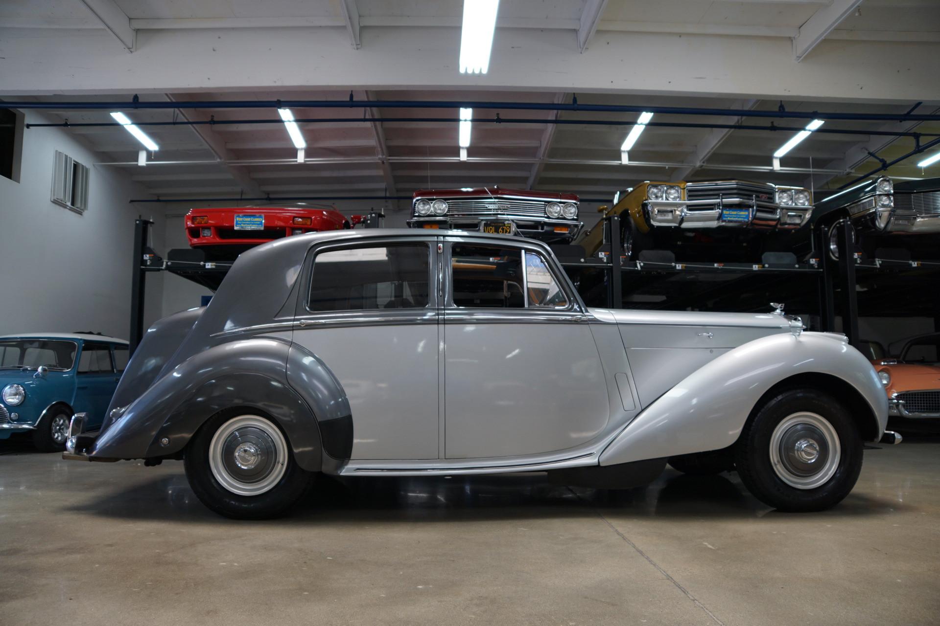 Bentley Mk Vi Hire Derby
