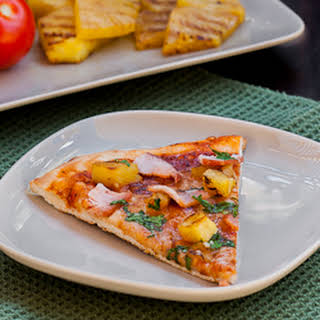 Grilled Pineapple Pizza.