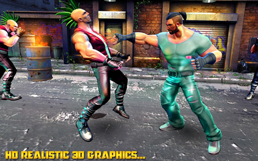 Kung Fu Commando 2020 : New Fighting Games 2020 apkslow screenshots 6