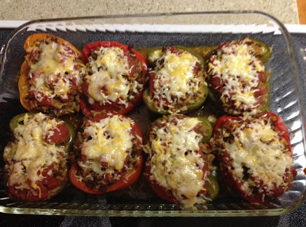 Creole Stuffed Peppers Recipe