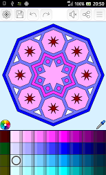 Mandalas coloring pages (+200 free templates) APK screenshot thumbnail 23