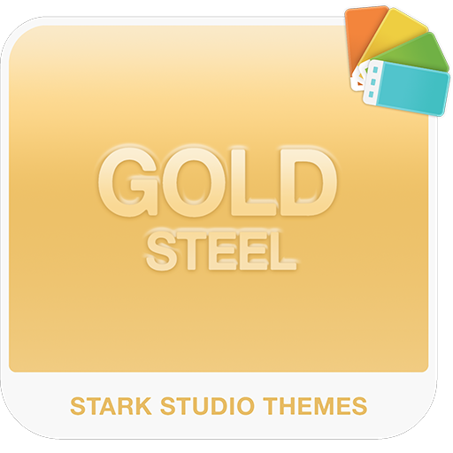 GOLD STEEL Xperia Theme