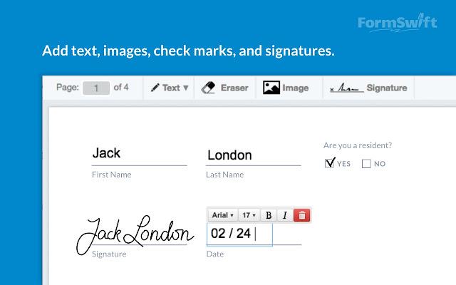 FormSwift PDF Editor