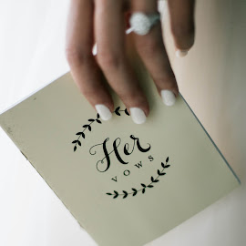 Her Vows by Autumn Wright - Wedding Ceremony ( love, bride, vows, ring, wedding )