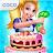 Real Cake Maker 3D - Bake, Design & Decorate logo
