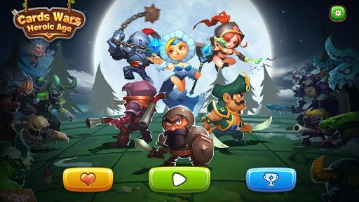 Cards Wars:Heroic Age HD