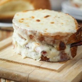 Croque-Monsieur (Toasted Ham & Cheese Sandwich)