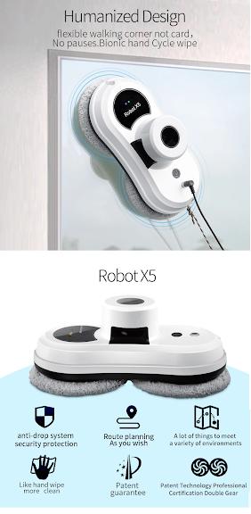 Robot lau tường