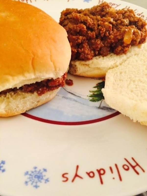 Homemade Sloppy Joes For A Crowd Recipe