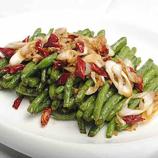 Fried String Beans With Ginger And Garlic