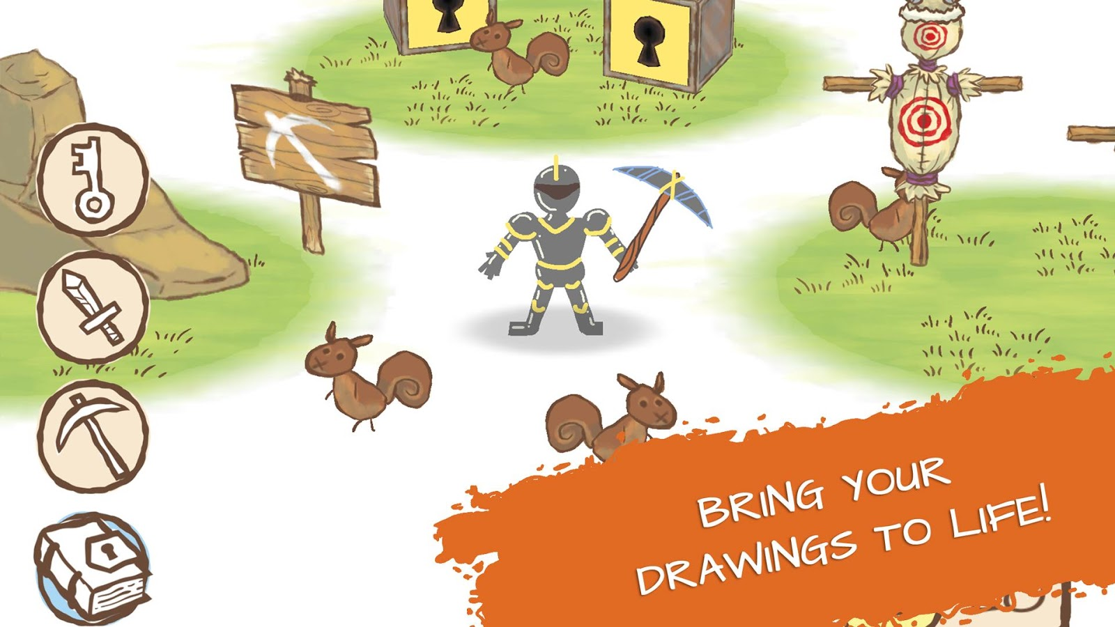 Draw a Stickman: Sketchbook- screenshot