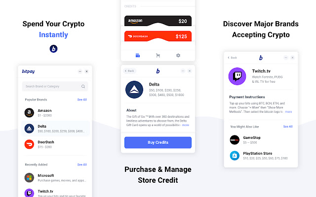 Pay with BitPay
