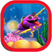 Super Skater Whale Run Game