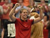 Kirsten Flipkens zet zege tegen Muguruza in top drie van Fed Cup-matchen