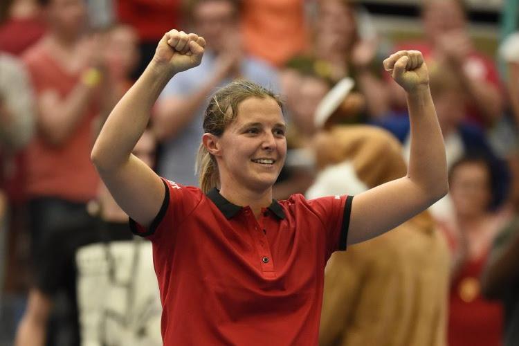 """Flipkens geeft stuntzege plaats in haar carrière: """"Ik herinner mij match tegen Shaughnessy, die moet nu zo'n 55 zijn"""""""