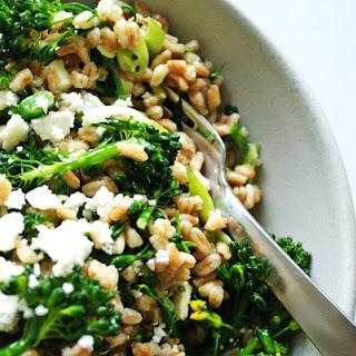Farro & Broccolini Salad.